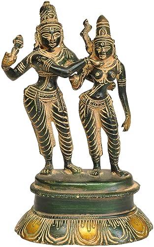 Shiva-Parvati – Brass Statue