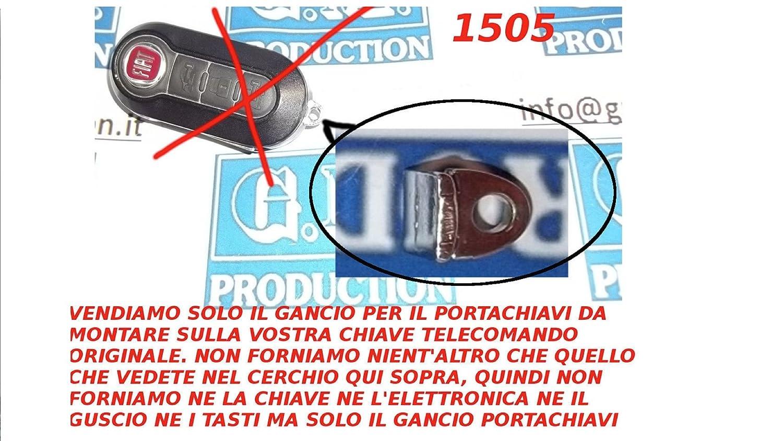 G.M. Production – 1505 – Gancho llavero para llave de coche ...
