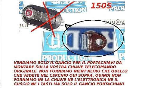 10 opinioni per G.M. Production- 1505 Solo Gancio Portachiavi Per Chiave Telecomando FIAT LANCIA