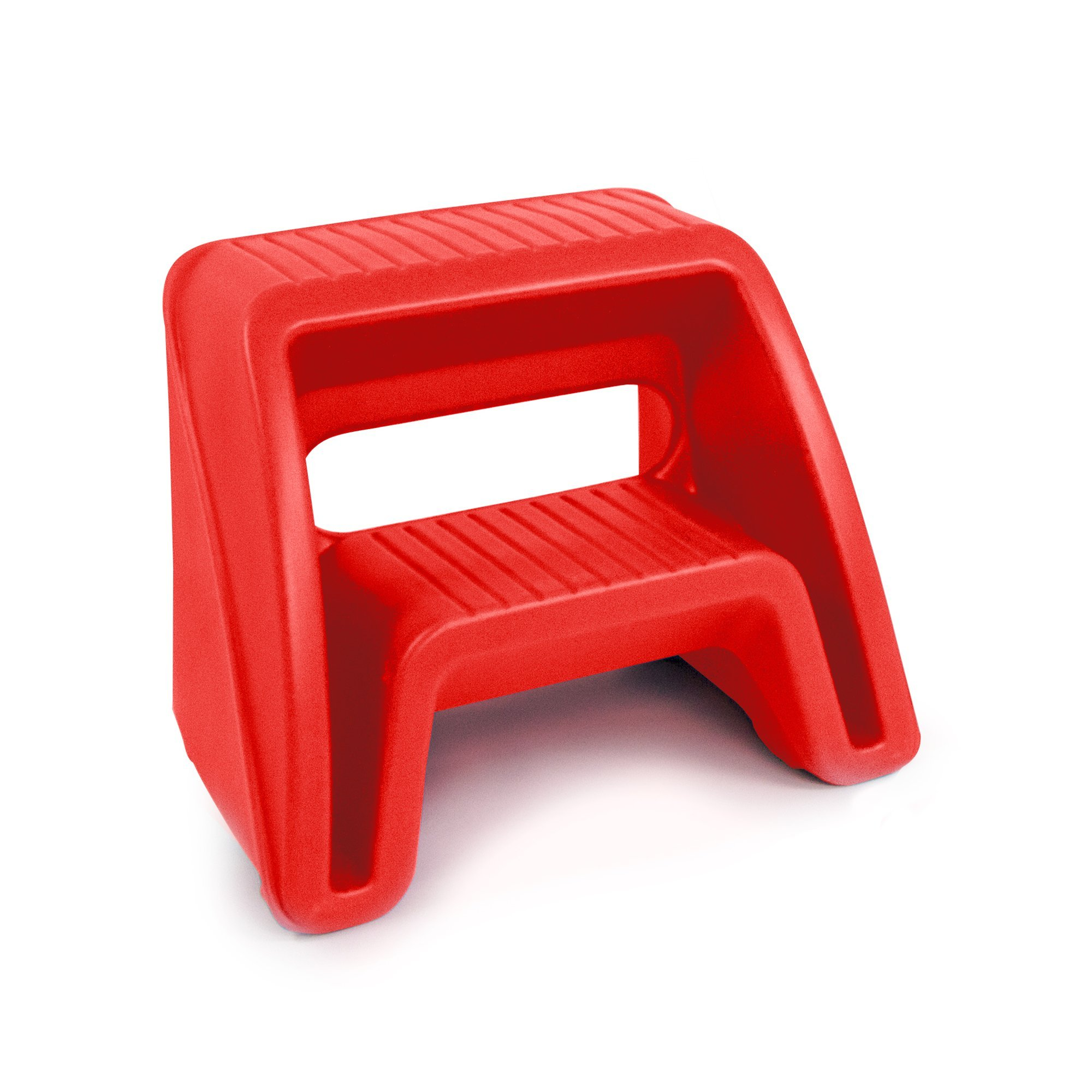 Simplay3 Handy Home 2 Step Plastic Stool, 16'' Top Step