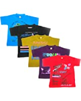 New Day Boys Cotton T-Shirt (Pack of five)