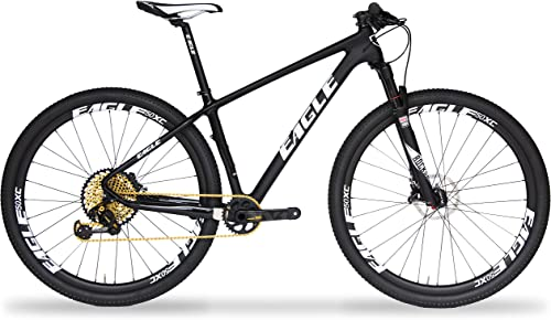 Eagle Patriot Carbon Fiber Mountain Bike Series – Shimano Deore, SRAM GX, SRAM XX1, RockShox Reba SID Suspension