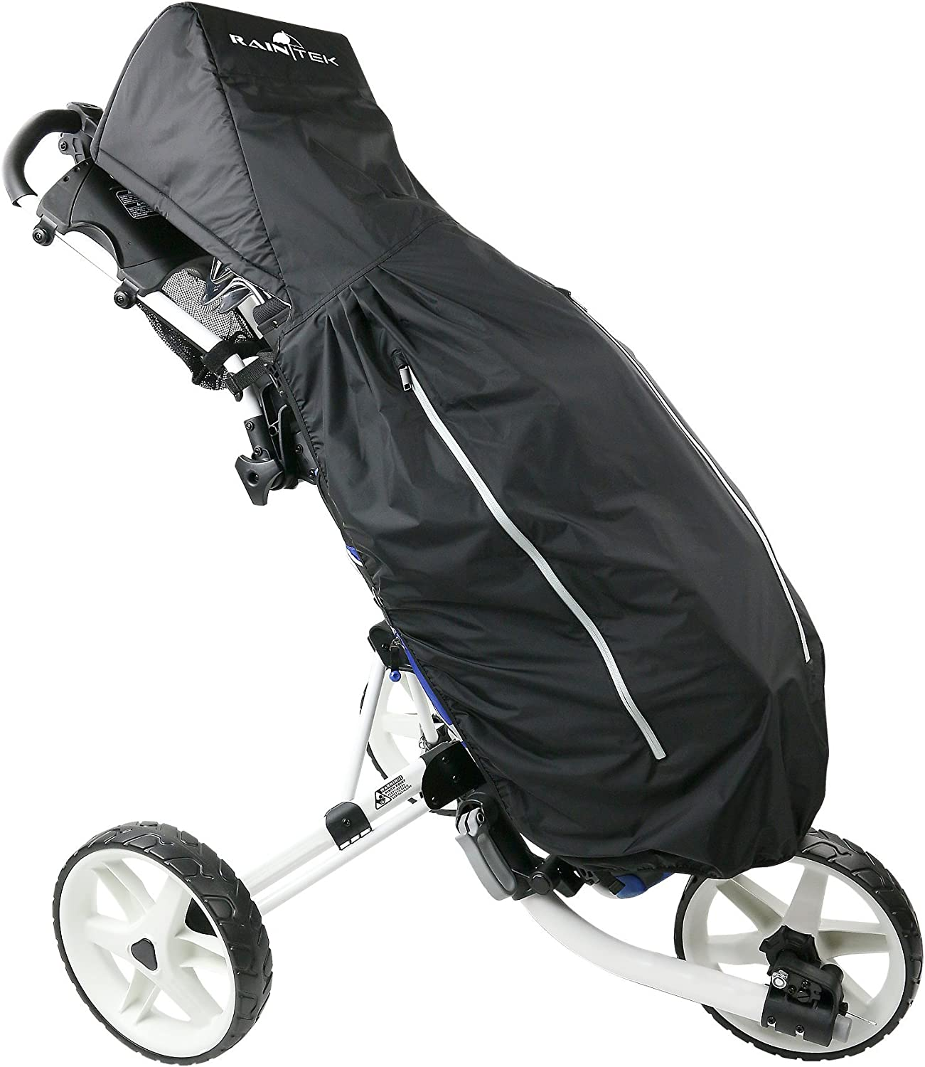Rain Tek Waterproof Golf Bag Rain Protection Cover with Hood for Golf Push Carts
