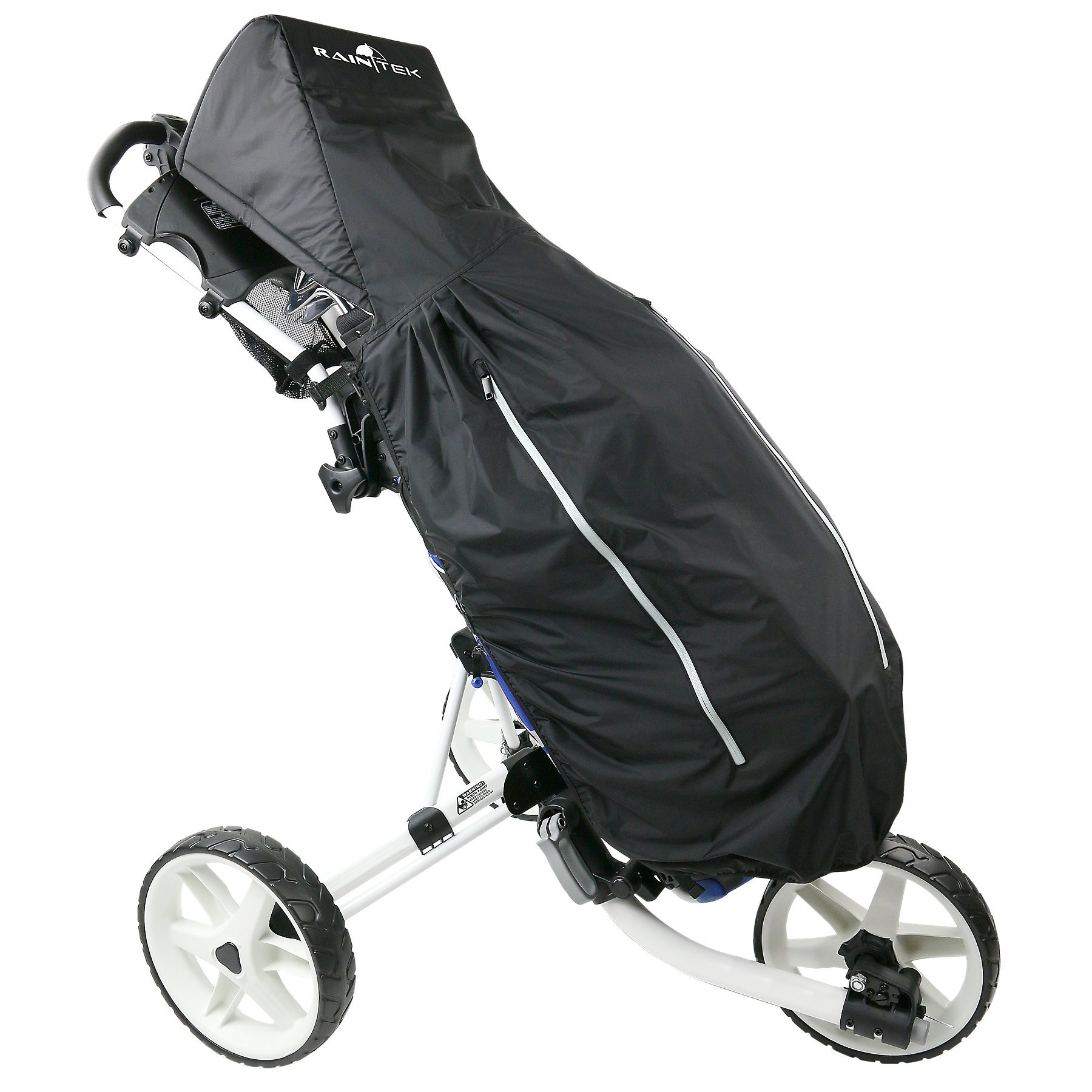 Rain Tek Waterproof Golf Bag Rain Protection Cover with Hood for Golf Push Carts by ProActive Sports