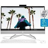 HP 27-inch Touchscreen All-in-One Desktop Computer, 10th Gen Intel Core i5-1035G1 Processor,12 GB RAM, 512 GB SSD…
