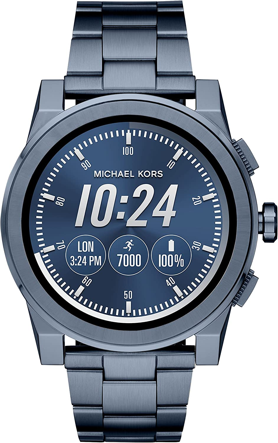 Michael Kors Mens Ionic Plated Grayson Smart Watch