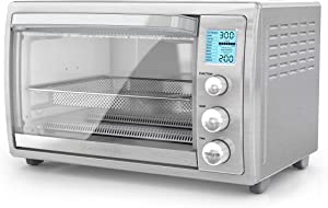 "BLACK+DECKER TOD5035SS, 8-Slices or 12"" Pizza, Stainless Steel"