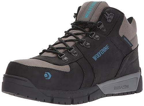 8b8b928105c Wolverine Men's Mauler Hiker Composite Toe Waterproof Work Boot