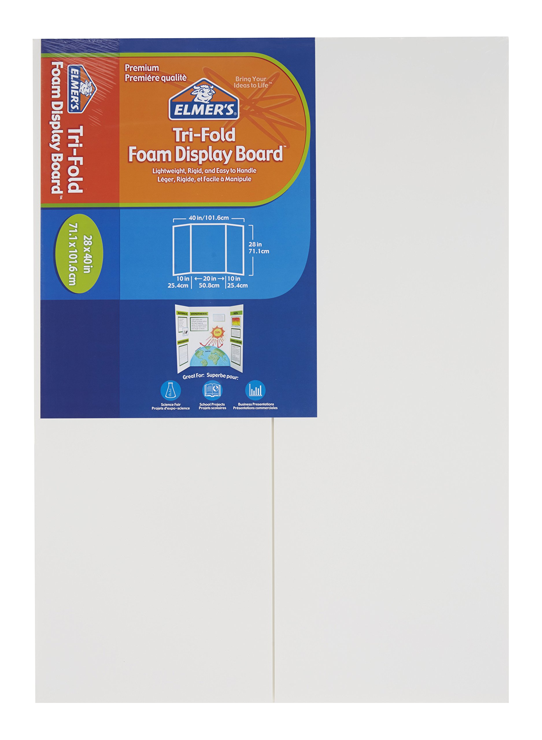 ELMERS Display Board, 28X40 Foam Premium, White, 6 Pack/30 (902093)