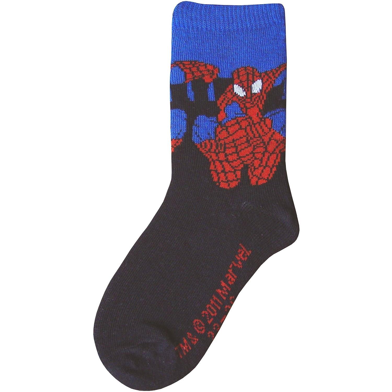 Boys' Official Spiderman Character Socks (3 Sizes) Blue Spiderman) NSpidermanSB03