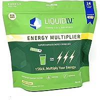 Liquid I.V Energy Multiplier Lemon Ginger Energy Drink Mix (Net Wt 11 Oz), 11 Ounces