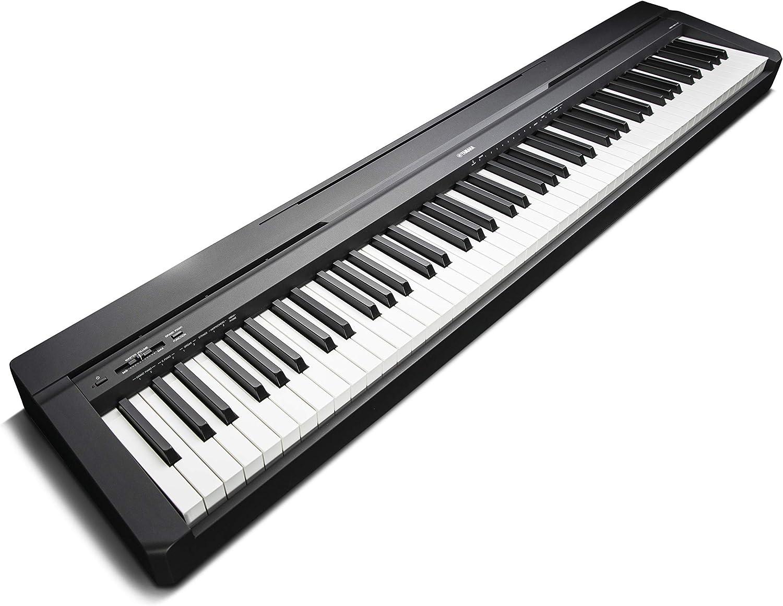 Piano eléctrico Yamaha P-45 vista lateral