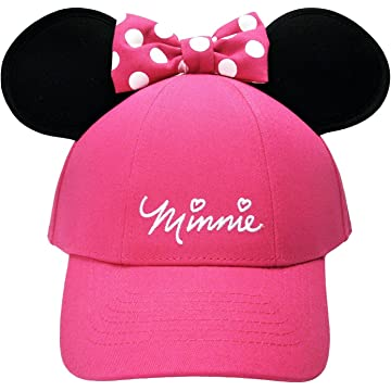 3b692c73b435a Amazon.com  Disney Minnie Mouse Adult Hoodie Hat by elope  Clothing
