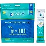 Liquid I.V. Hydration Multiplier - Watermelon - Hydration Powder Packets | Electrolyte Supplement Drink Mix | Low Sugar | Eas