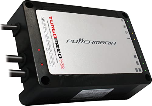 Turbo Dual-Bank 20-A Waterproof Battery Charger [Powermania] Picture
