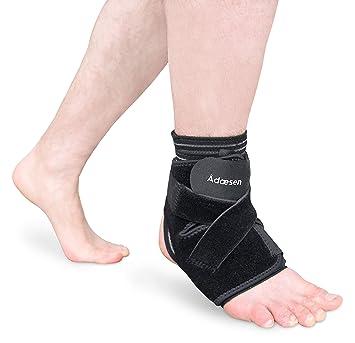 Ankle Brace, 4 en 1 pantalla de compresión, Ultra Thin Funda de neopreno con
