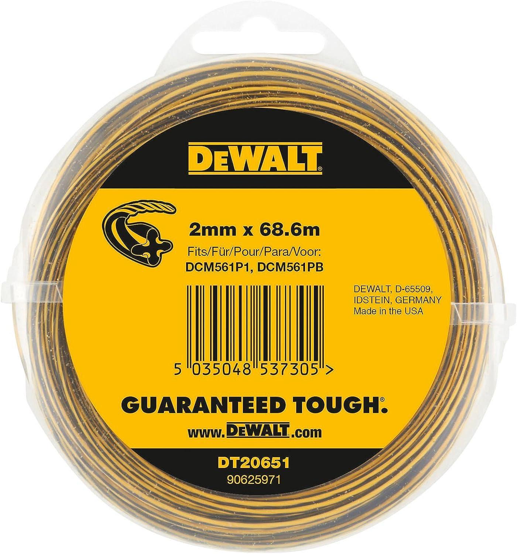 DeWALT DT20650 Trimmer-Faden 15,2 m// 2,0 mm 1 Stück