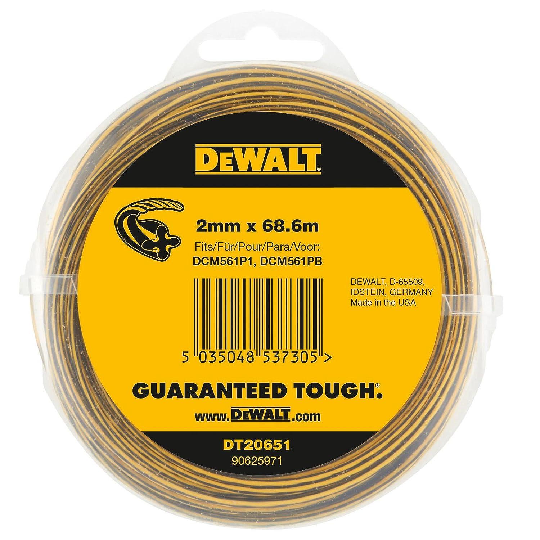 Dewalt DT20651-QZ Bobina de hilo 2 mm x 68.6m: Amazon.es ...
