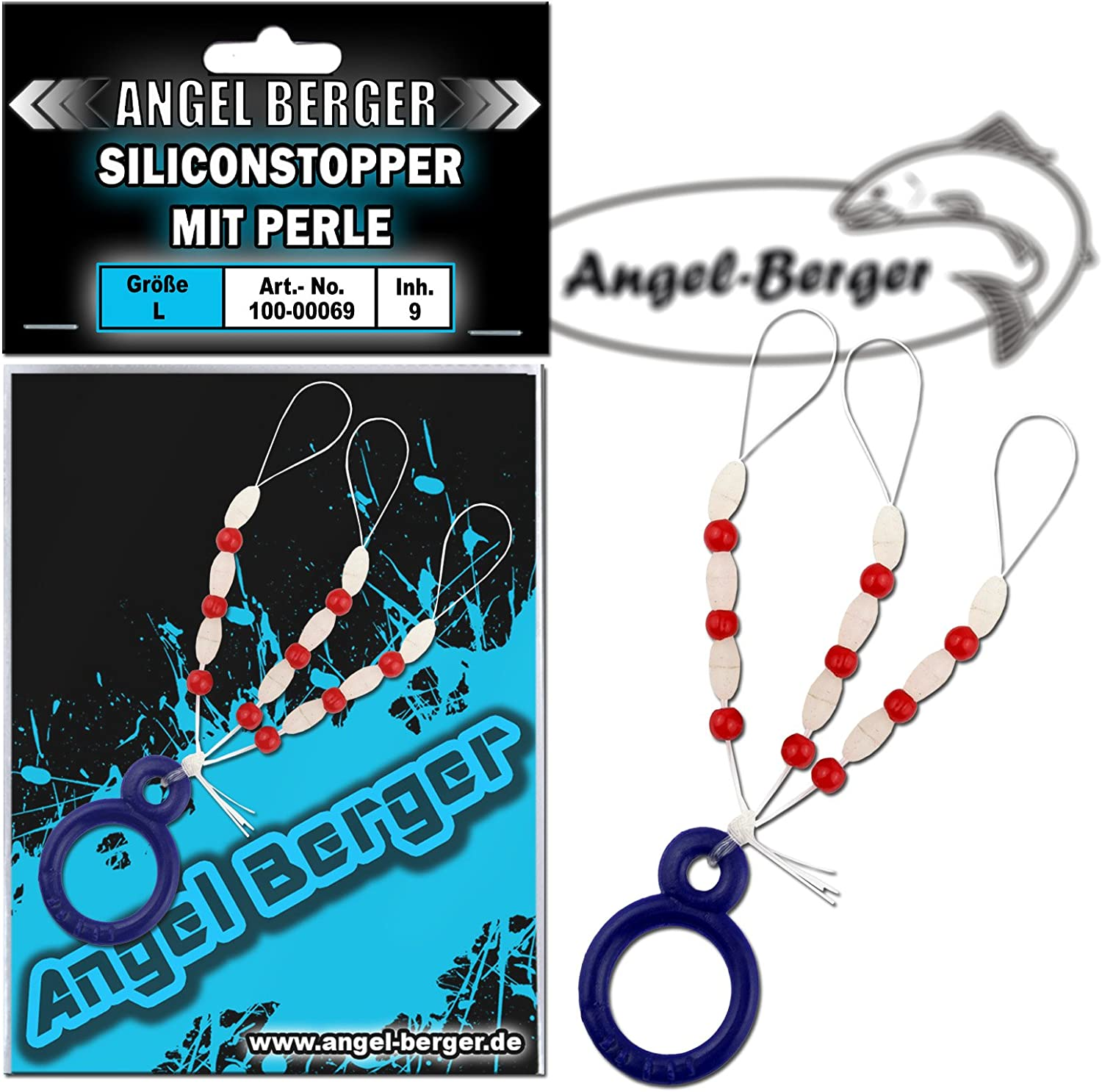 Angel-Berger Silicon Stopper mit Perle