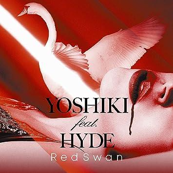 amazon amazon co jp限定 red swan yoshiki feat hyde盤 デカ