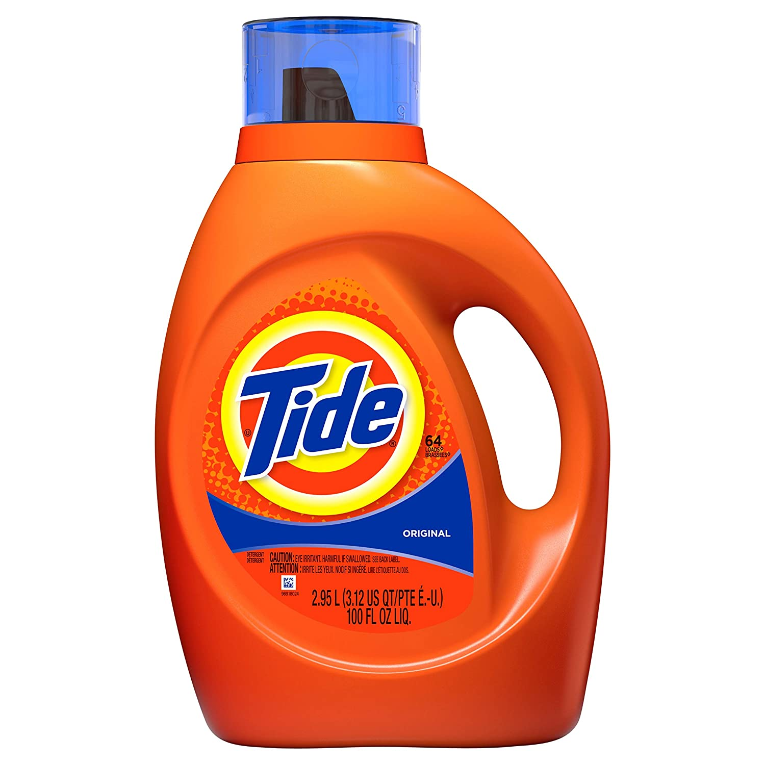 Tide Original Scent Liquid Laundry Detergent, 100 Fl Oz (Packaging May Vary) thomaswi