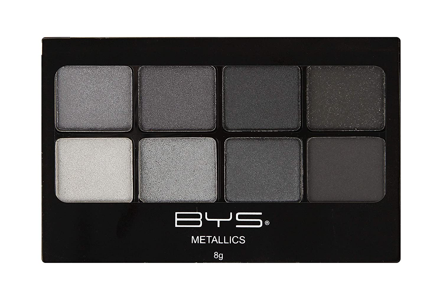 BYS Eyeshadow Makeup Palette 8 Shades - Matte Neutrals