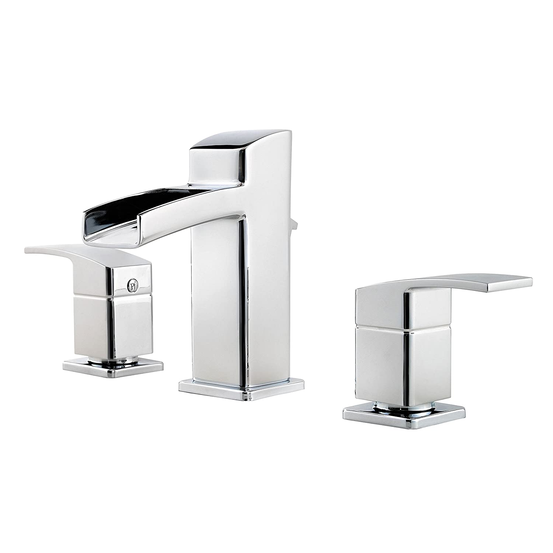 Pfister LG49DF0C Kenzo 2-Handle 8 Inch Widespread Waterfall Bathroom ...