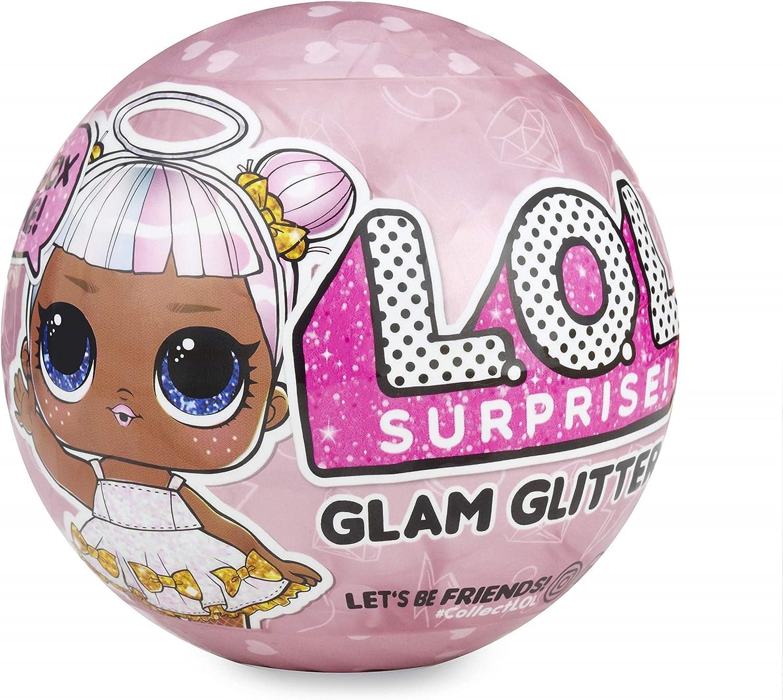 MGA Entertainment L.O.L. Surprise! Dolls Glam Glitter Series 2 for Sidekick muñeca - Muñecas (Multicolor, Femenino, Chica, 12 año(s), De plástico, Surprise Ball): Amazon.es: Juguetes y juegos