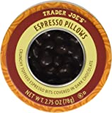 Trader Joe's Espresso Pillows Crunchy Toffeed Espresso Bits Covered in Dark Chocolate 2.75 oz