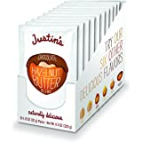 Chocolate Hazelnut Butter Squeeze Packs by Justin's, Organic Cocoa, Gluten-free, Responsibly Sourced, (1.15oz each) (Pack of 10)