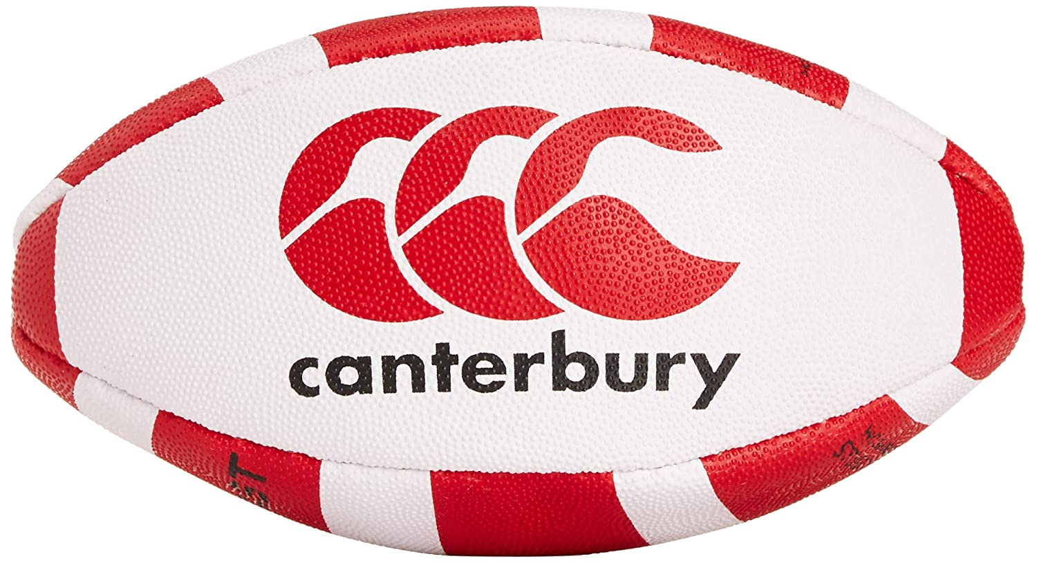 Canterbury Catalyst - Mini balón de Rugby Multicolor Blanco y Rojo ...