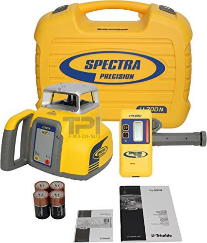 NEW TRIMBLE SPECTRA PRECISION LL300 SELF-LEVELING ROTARY LASER LEVEL