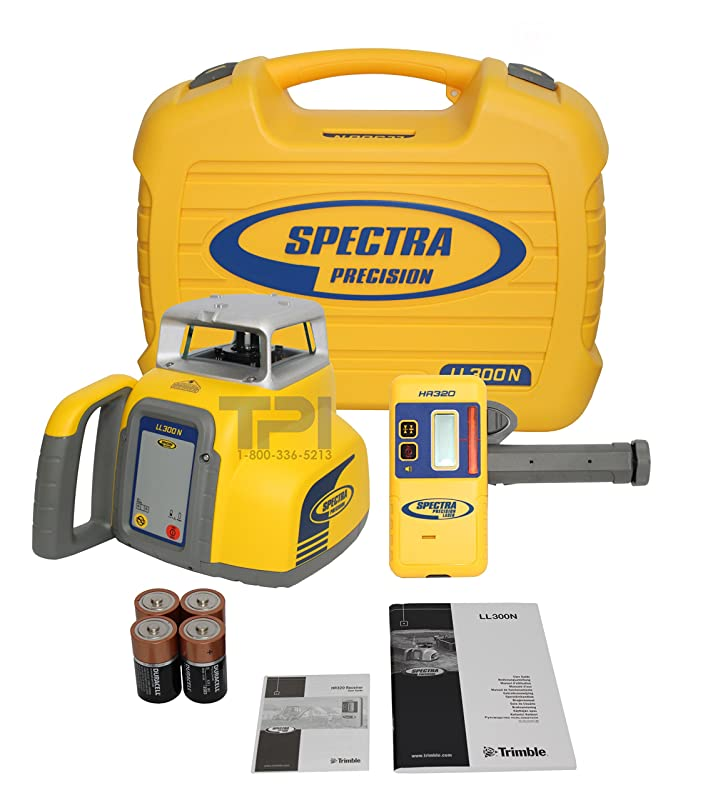Spectra LL300: Most Durable Rotary Laser Level