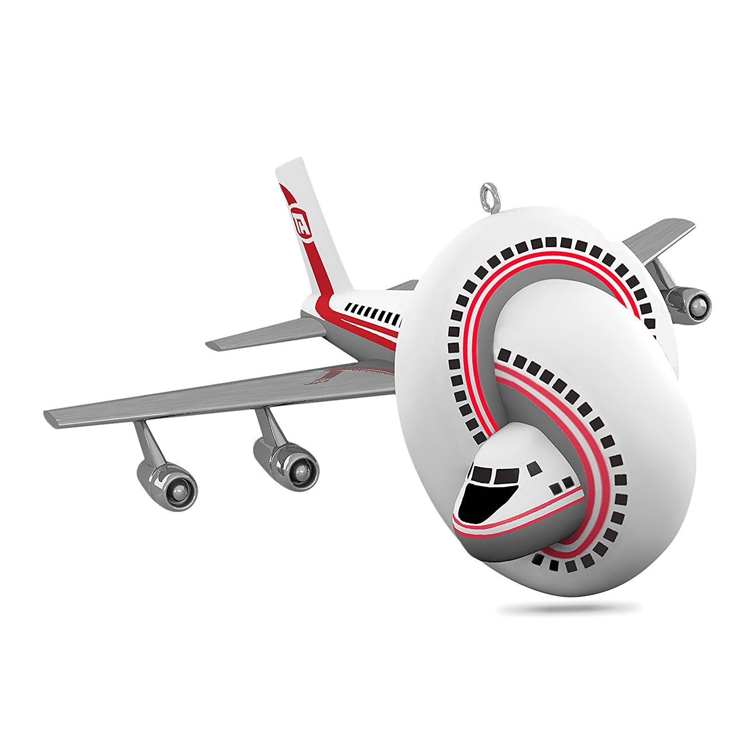 Hallmark Keepsake 2017 Airplane! The Movie Sound Christmas Ornament Hallmark Cards 1795QXI1502