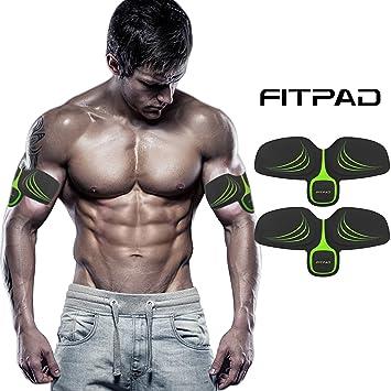 FITPAD Máquina Abdominal Inteligente, Ejercicios de Musculación Automática Individualización Invisible para Hombre y Mujer Dispositivo BODY CR9: Amazon.es: ...