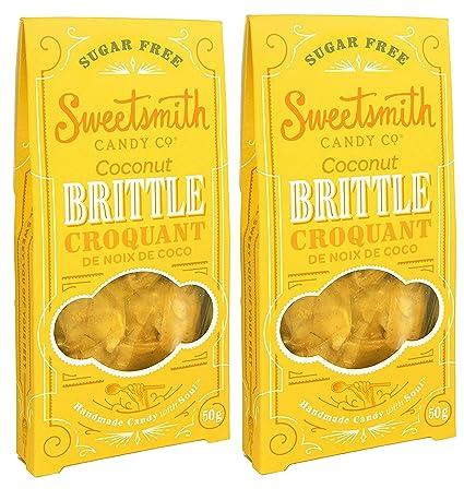 Sweetsmith Candy Co. Peanut Brittle sin azúcar – amigable ...