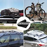 AUPERTO Car Roof Protective Mat, Roofbag Protective Mat Anti-Slip Extra Padding Foldable for Car Top, Roof Bag, Home, Garage