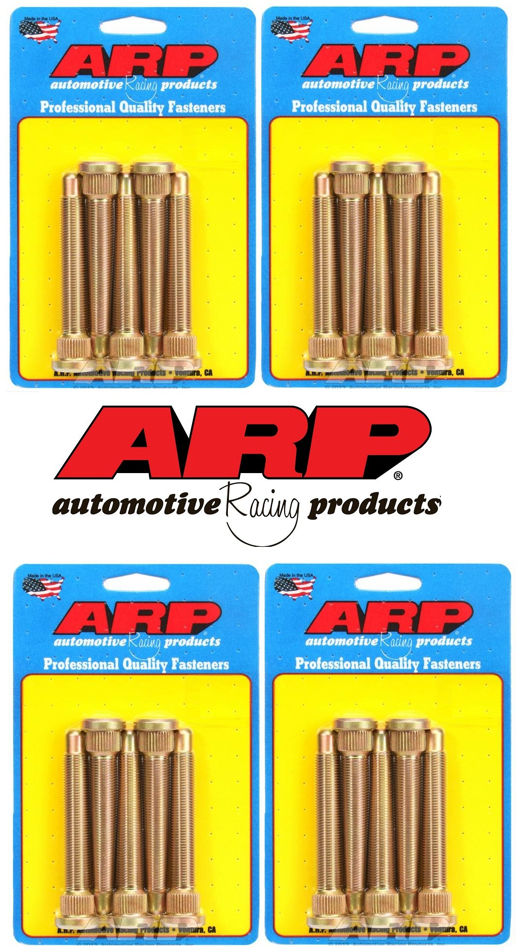 ARP Wheel Stud Kit For Ford Rear Disc Brakes (Set of 20) by ARP (Image #1)