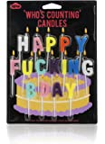 NPW Who's Counting Candles, Happy F--king Bday Birthday Candles