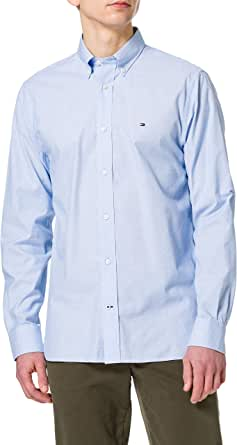 Tommy Hilfiger Natural Soft Poplin Shirt Camisa para Hombre