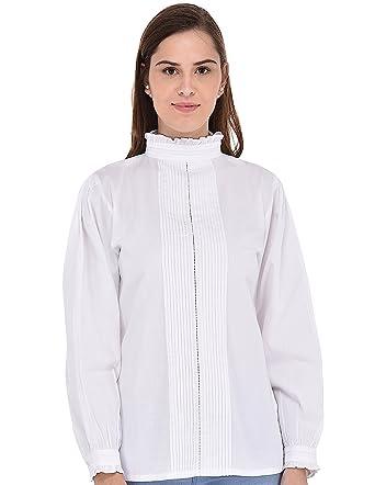 Blouse Cotton D'edouard Blanche L'époque Vii Cotonnière De Lane c35jLq4RA