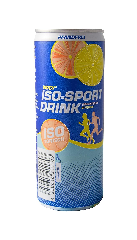 NRGY ® isotonischer Iso Sport-Drink Grapefruit Zitrone pfandfrei 24 ...