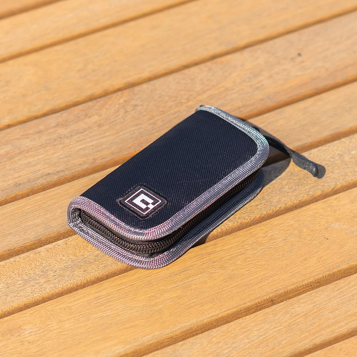 Pods and Charger Carrying Case Wallet Holder for JUUL and Other Popular Vapes Device Not Included Holds Vape Fits in Pockets or Bags
