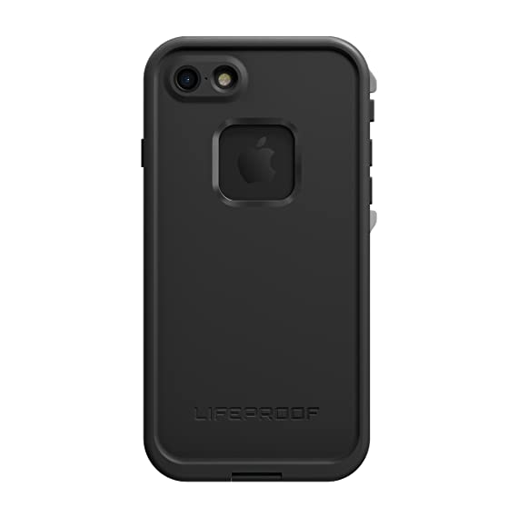 huge selection of 82ba4 40702 Lifeproof FRĒ SERIES Waterproof Case for iPhone 7 (ONLY) - Retail Packaging  - ASPHALT (BLACK/DARK GREY)