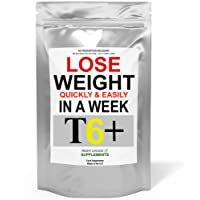 T6+ Very Strong Slimming Weight Loss Tablets Extreme Legal Fat Burner Diet Pills (60)