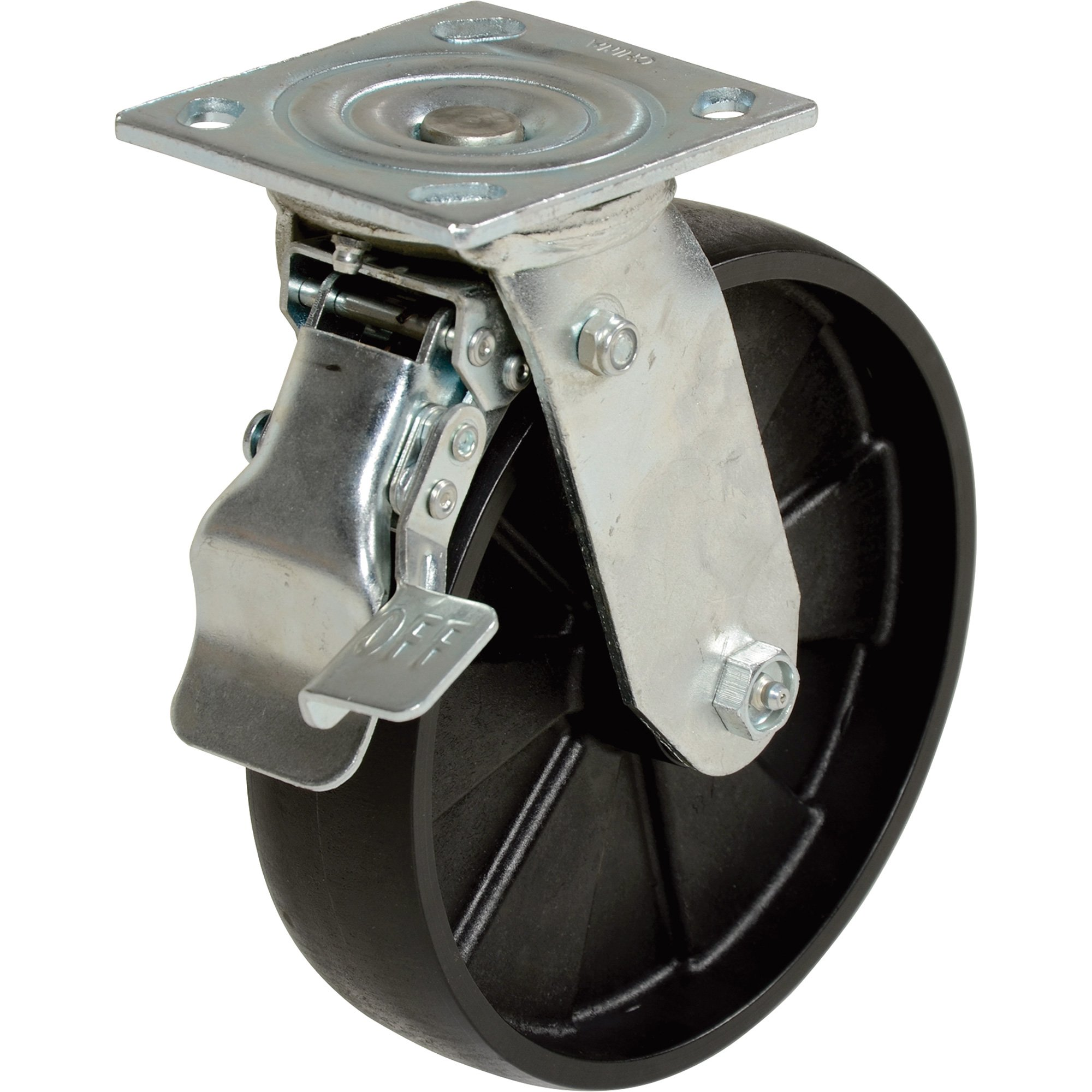 IHS AHS-6/8-TLC Total Locking Caster for 6000 and 8000 lbs Capacity Steel Gantry Crane