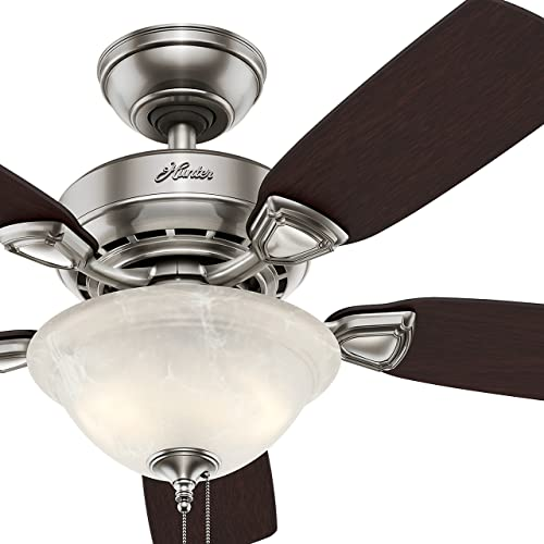 Hunter Fan 44 inch Brushed Nickel Finish Ceiling Fan