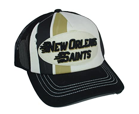 sports shoes 455c1 999be ... spain new orleans saints snapback adjustable one size fits most hat cap  black c9dc1 7a6b0