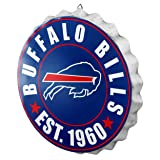 Buffalo Bills NFL Bottle Cap Wall Sign