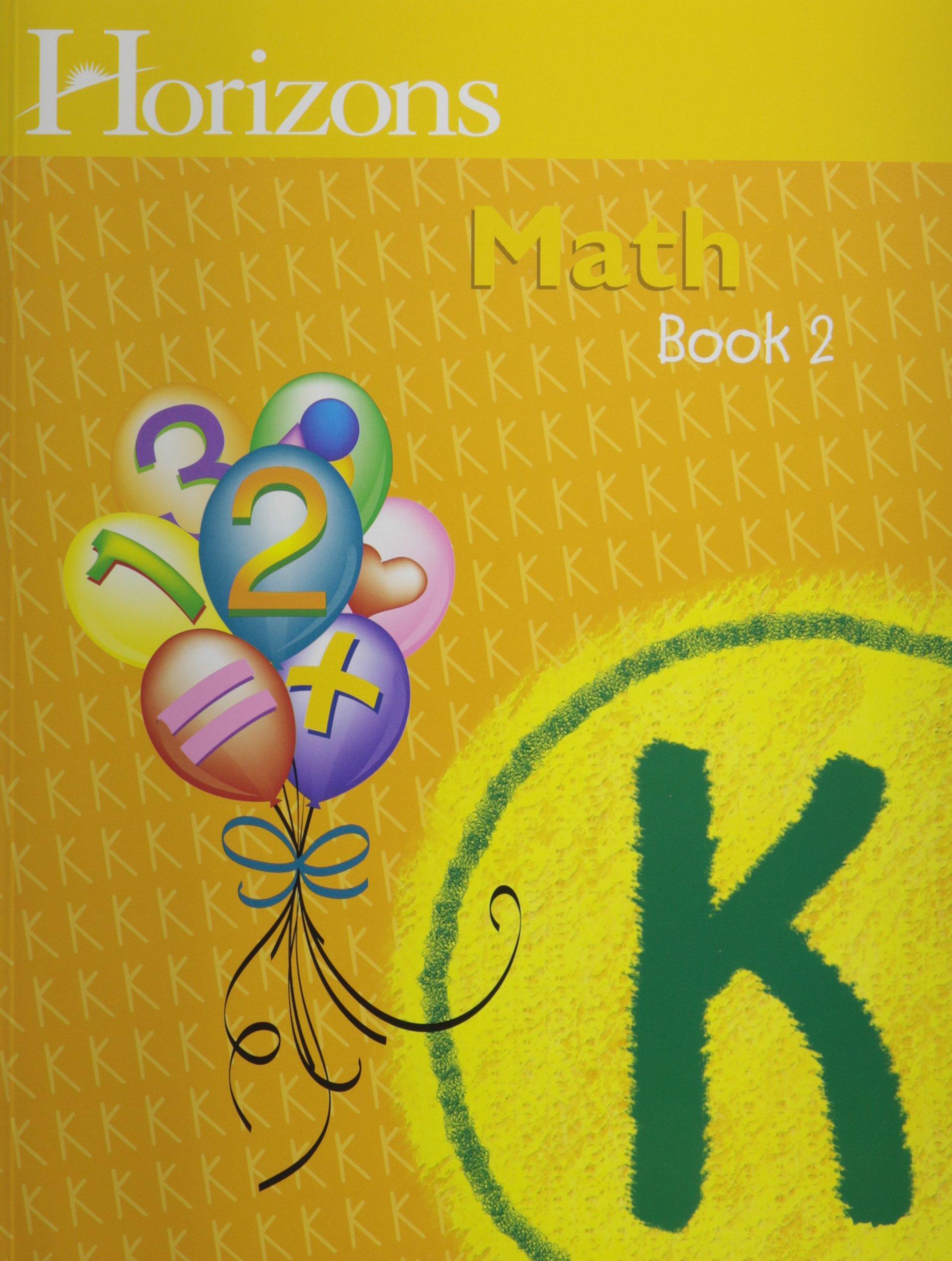 Horizons Math K SET of 2 Student Workbooks K-1 and K-2: Alan  Christopherson: 9780740325298: Amazon.com: Books